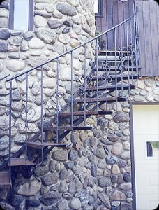 Spiral Staircase on stone